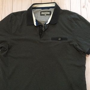 Ted Baker Polo Shirt Size 5